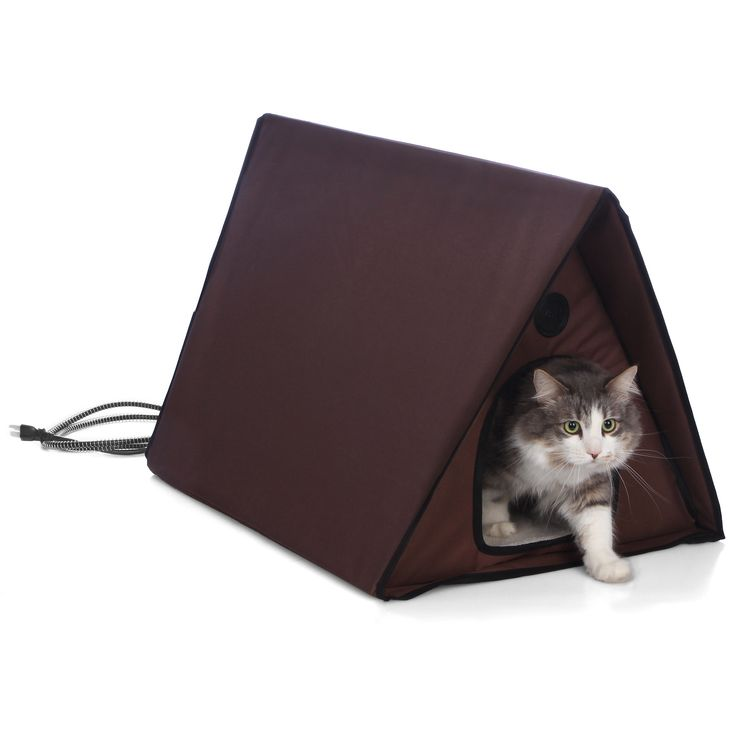 1000 Ideas About Outdoor Cat Shelter On Pinterest