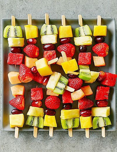 Mini Fresh Fruit Kebabs (16 Pieces) | M&S