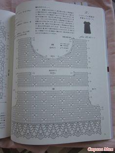 Scheme flirtează rochii pentru copii croșetat - Tricotat pentru copii - domiciliu mame