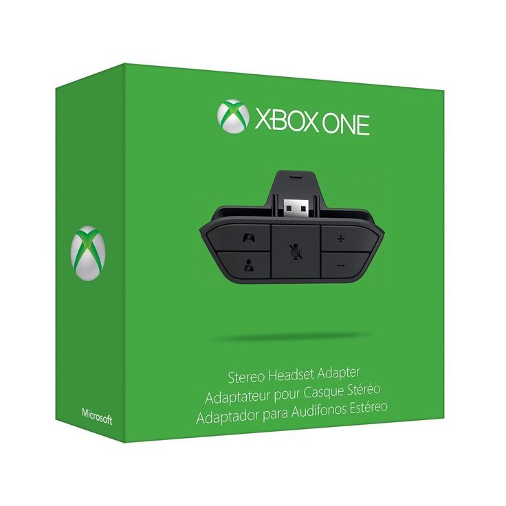 Microsoft Xbox One - Stereo Headset Adapter #6JV-00006