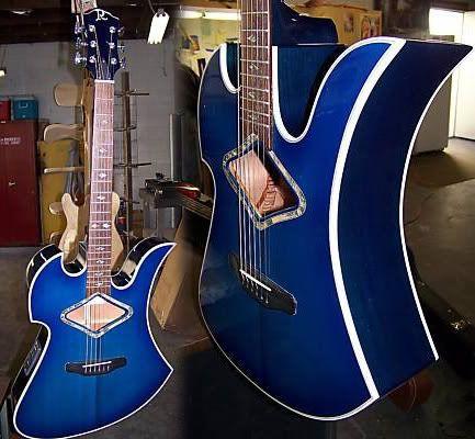 BC Rich Mockingbird Acoustic Guitar