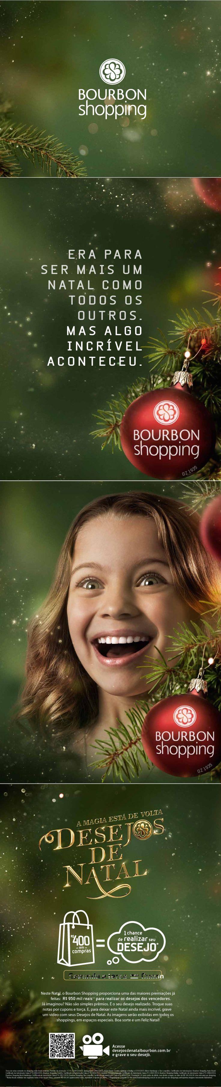 Desejos de natal - Bourbon Shopping - Agência Matriz 2014