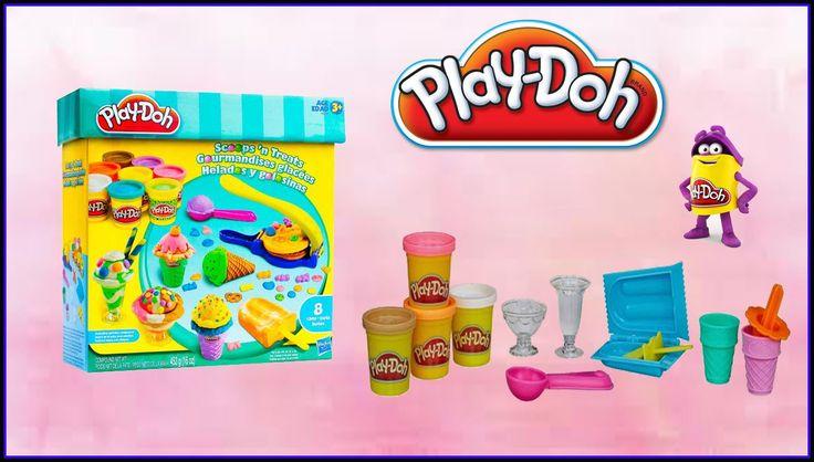 Play doh Scroops'n Treats Helados de Colores Gelados & Guloseimas