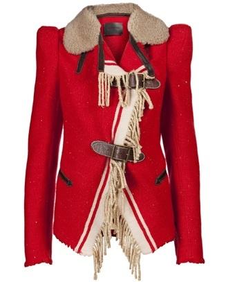Wunderkind Fur Collar Coat from Farfetch