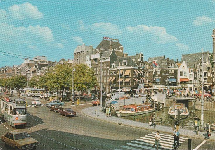 Rokin Amsterdam (jaartal: 1970 tot 1980) - Foto's SERC