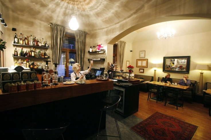 Café Lounge, Plaská 5, Praha