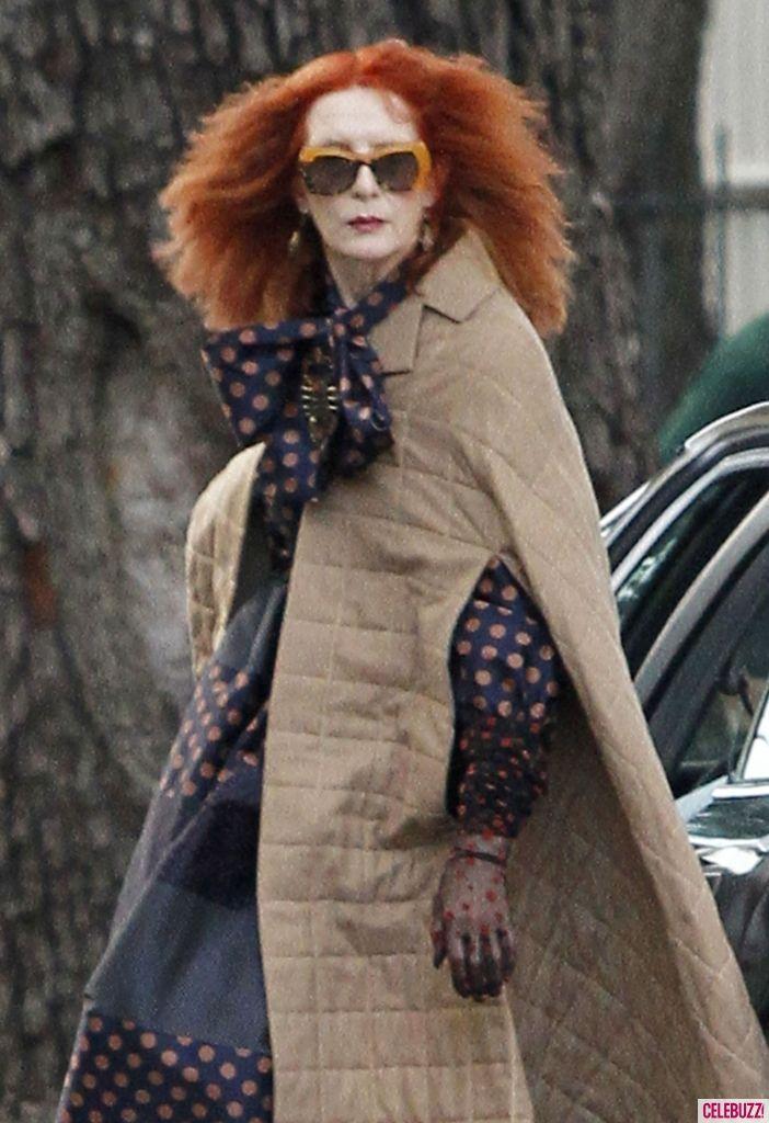 american horror story season 3 redhead