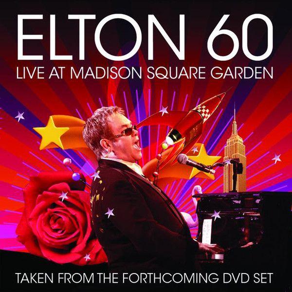 Elton John Album Covers Elton John Elton 60 Live At