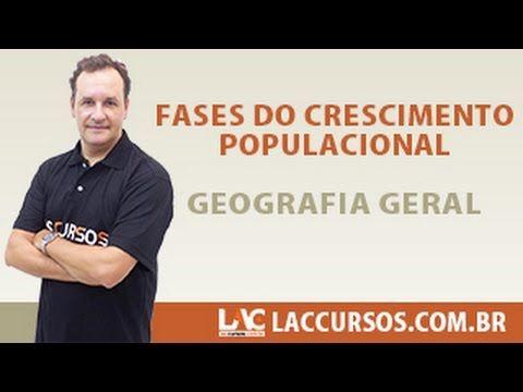 GEOGRAFIA Aula 04/30 Fases do Crescimento Populacional