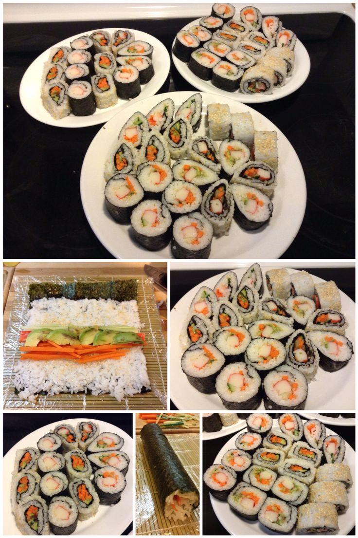 Homemade Sushi Part II
