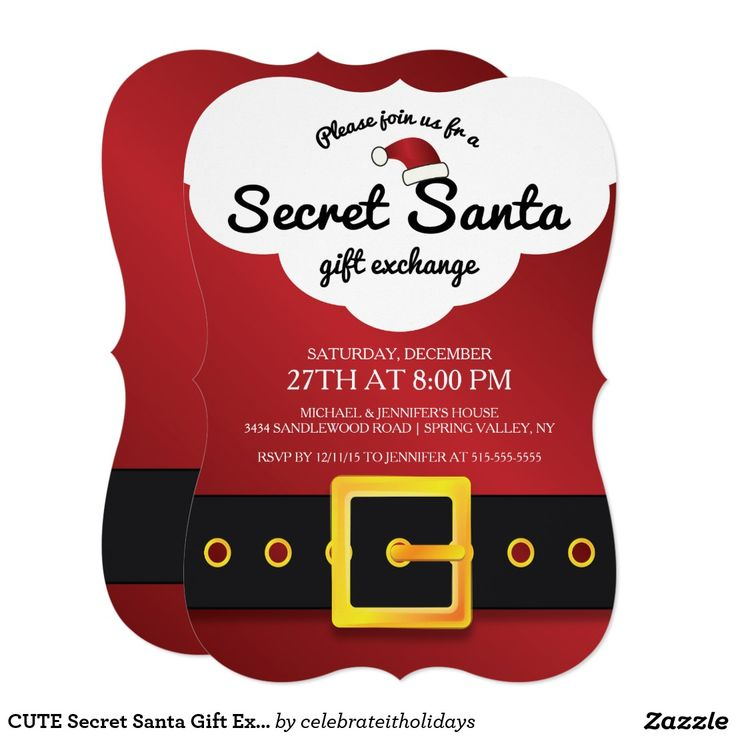 967 best Christmas Party Invitations images on Pinterest | Christmas ...