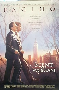 """""""Scent of a Woman"""" Original Movie Poster 1992 PACINO FOR SALE:   Go to my Ebay store     http://stores.shop.ebay.com/All-Things-Unique    Original Movie, Music Posters, original photos, drawings printed on glass and more.   Please share with your friends and have a great day!"""