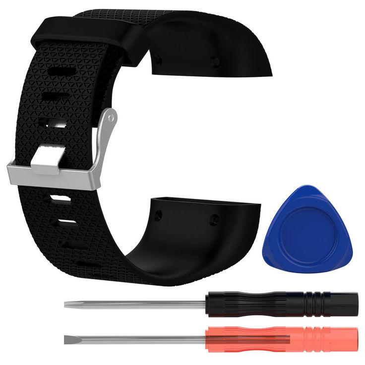 Soft Silicone Replacement Watch Band Strap + Tool Kit For Fitbit Surge Wristband #UnbrandedGeneric