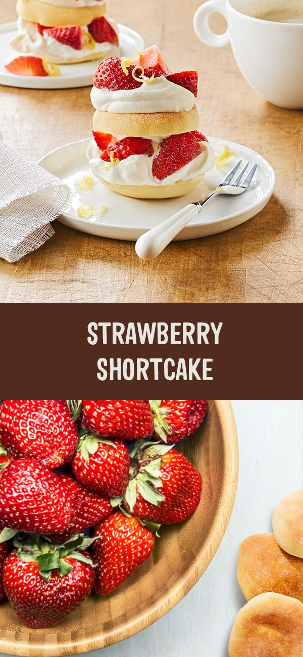 Make the most of summer strawberries with this recipe for Strawberry Shortcake, with our NEW Brioche Bites or Snacking Rounds!   Recipe on our Facebook page #BetterBrioche    Look for a treat at the end of the recipe for you!