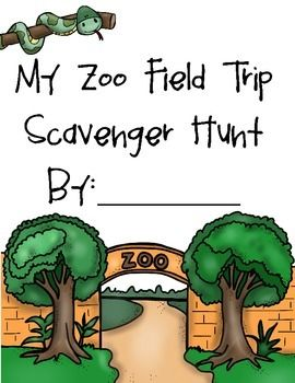 This is a small Zoo Scavengar hunt book.  It comes in two versions the colored in version and the coloring version.