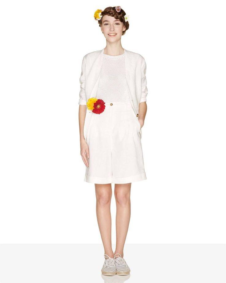 Womens Oversize Shirt Pockets Dress Benetton gg25IPEJjl