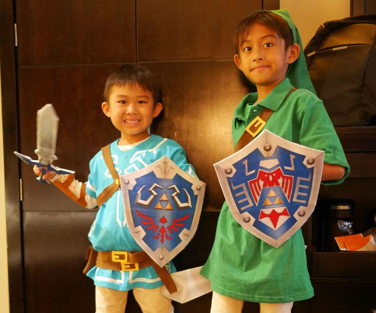DIY LINK COSTUMES: Legend of Zelda - Breath of the Wild & Majora's Mask