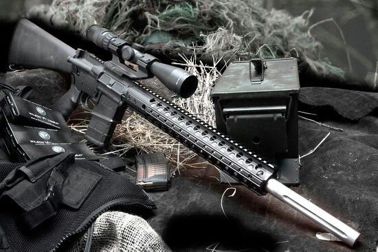 AR 10 Awesome set up Great caliber