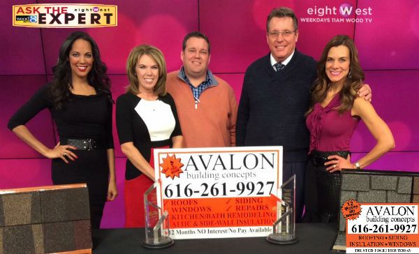 WATCH: WOOD TV 8 names Avalon Building Concepts its Roofing Expert.  Watch for more appearances on eightWest and more tips about roofing. http://avalonbuildingconcepts.net/wood-tv-8-names-avalon-its-roofing-expert/