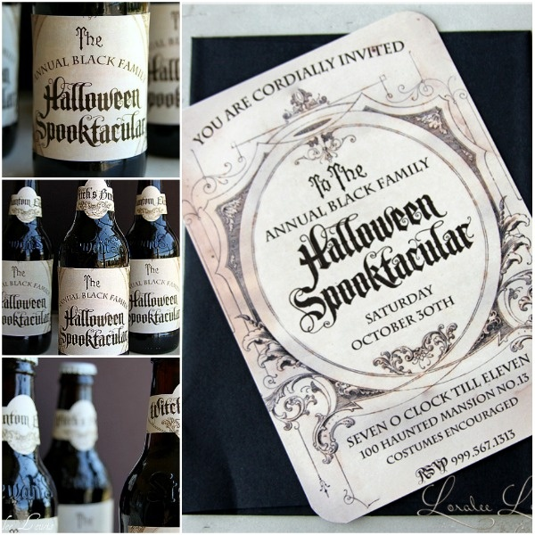 A Halloween Spooktacular: Halloween Parties, Cute Halloween, Halloween Invitations Diy, Fall Halloween Thanksgiving, Dark Halloween, Events Ideas, Parties Invitations, Halloween Ideas, Fabulous Halloween