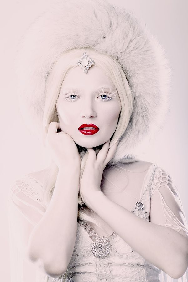 This is Doe Deere, one of my favourite bloggers. She is Russian, her name is also Ksenia, and she is Just Gorgeous. She is a model/makeup brand owner/fashion designer/makeup artist/story teller.