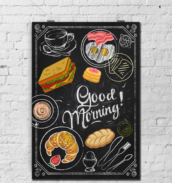 Chalkboard Kitchen-Food-Cuisine-First by TimelessMemoryPrints