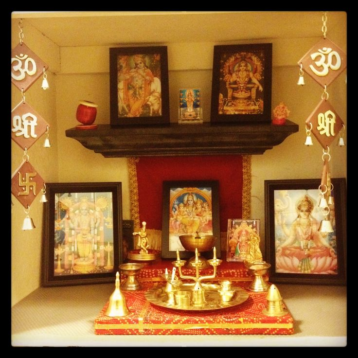 152 Best Pooja Room Ideas Images On Pinterest Diwali Decorations Festival Decorations And