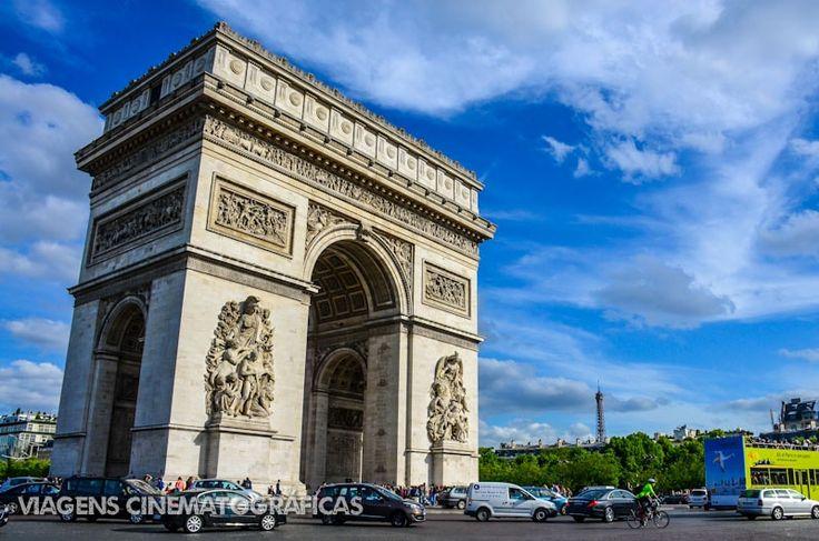 Paris - Os Melhores Pontos Turísticos: Arco do Triunfo