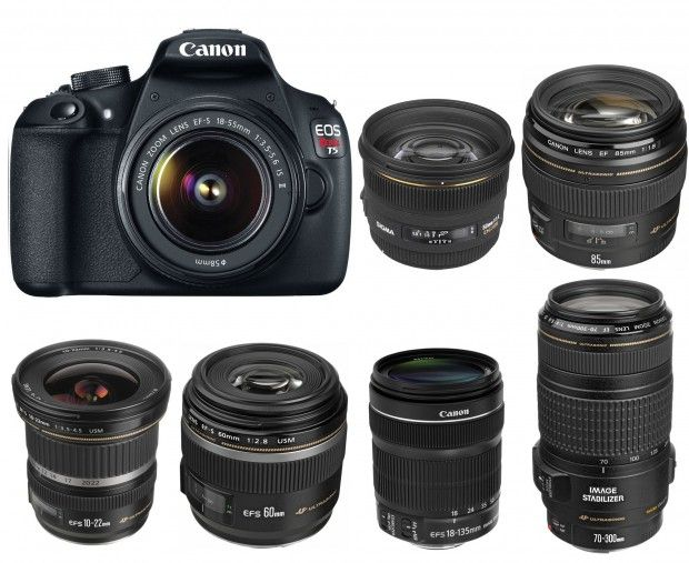 Best Lenses for Canon EOS Rebel T5/1200D DSLR camera. Looking for recommended…