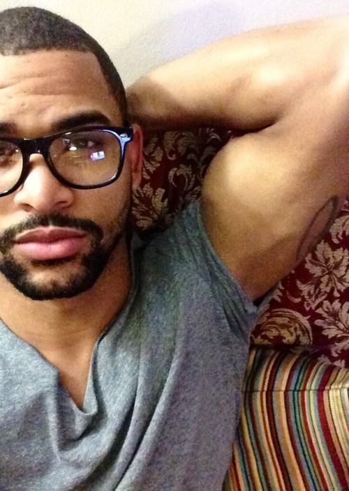 Love the glasses..and he's cute too.