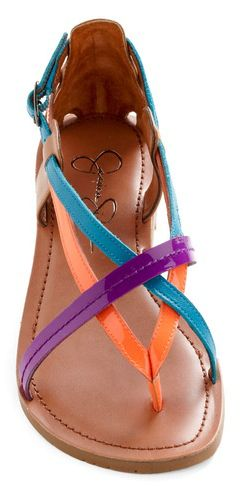 Stylish Strappy Flat Sandals For Summer