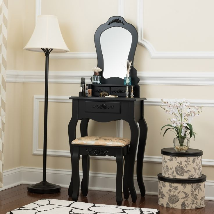 Best 25 Black Vanity Table Ideas On Pinterest Black