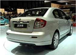 Countrys largest car maker Maruti Suzuki India Ltd today launched an all new version of its mid-size sedan SX4 in the country, with price remaining unchanged in the range of Rs 7.38-9.79 lakh.  ...
