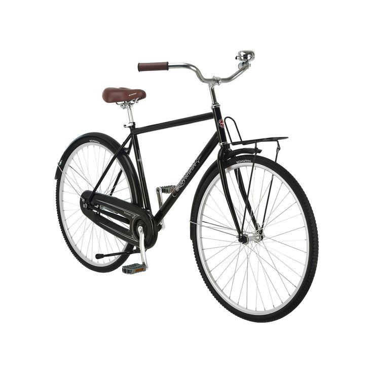 Men's Schwinn 700c Wheel Scenic Dutch Style Cruiser Bike, Black