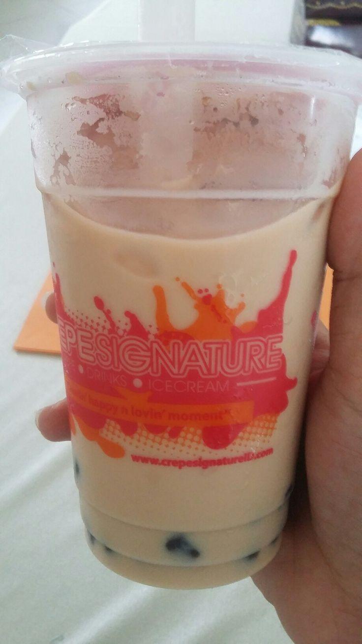 Milk Tea with Black Jelly