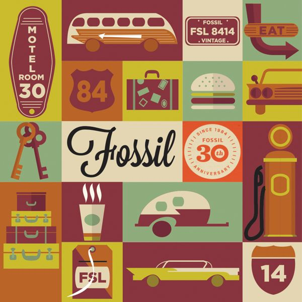 Fossil 30th Anniversary Tin on Behance