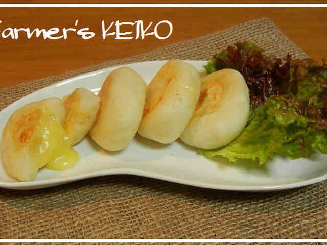 【農家のレシピ】チーズ入り☆じゃがいも餅の画像