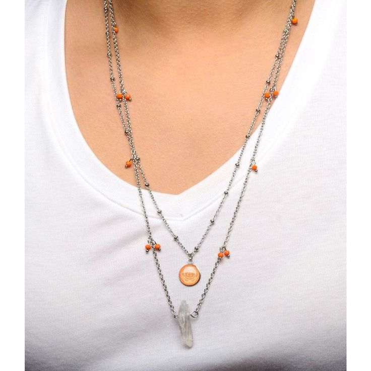 Add street style to your outfit with this necklace. #necklace #fashion #style https://goo.gl/4ft683