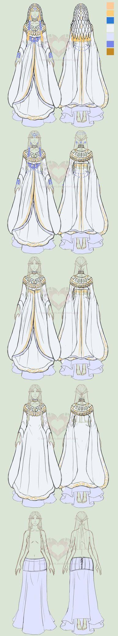 Hylia's robe