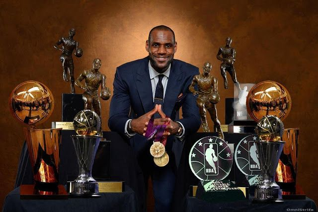 Must be so hard arguing against this guy as greatest player ever..wait he's not done yet! #striveforgreatness