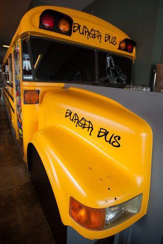 Take a Look Inside Bernie's Burger Bus Restaurant - Eater Inside - Eater Houston