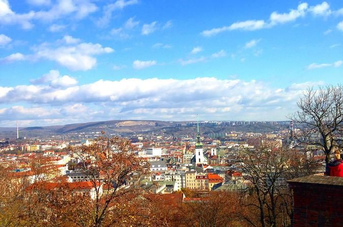 Walking Tour in Brno Center with Local Guide Small group (6 people max) walking tour around the main sights of Brno with a local laid back guide ! We will cover all the main sights one shall see plus a little bit of extra. You will learn about the sights but also about the nature of the city itself and the current events. There are two options to choose from - 2 hours - where the walk takes place mainly around the centre and Petrov. The 4 hour tour includes Spielberg castle - ...