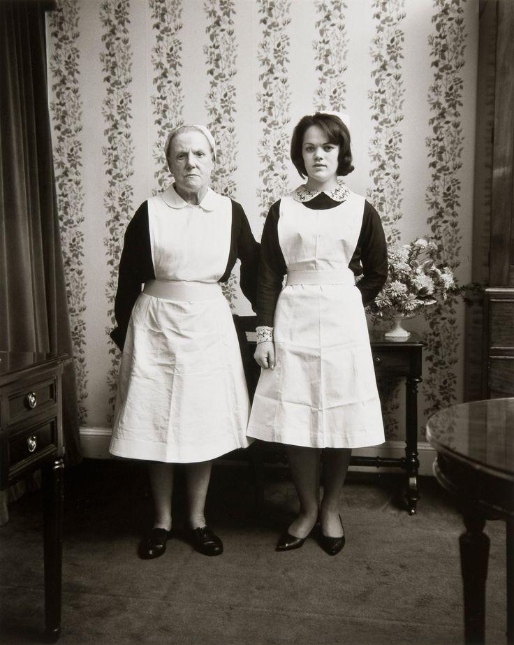 Anna and Emma, Dublin 1966 Photo of Evelyn Hofer