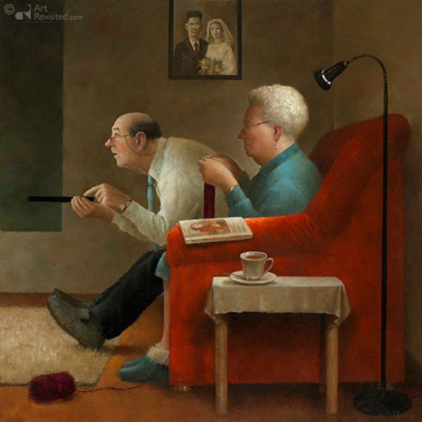 ... by Marius van Dokkum - Dutch Artist and Illustrator