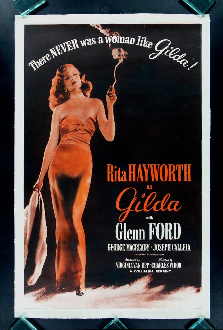 78 best Rita Hayworth Movie Posters images on Pinterest ...