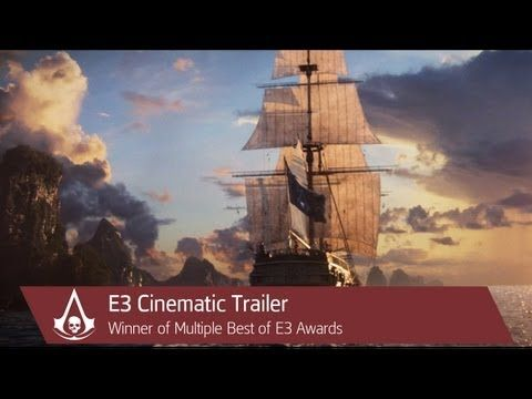E3 Cinematic Trailer | Assassin's Creed 4 Black Flag [North America] 2013 - YouTube