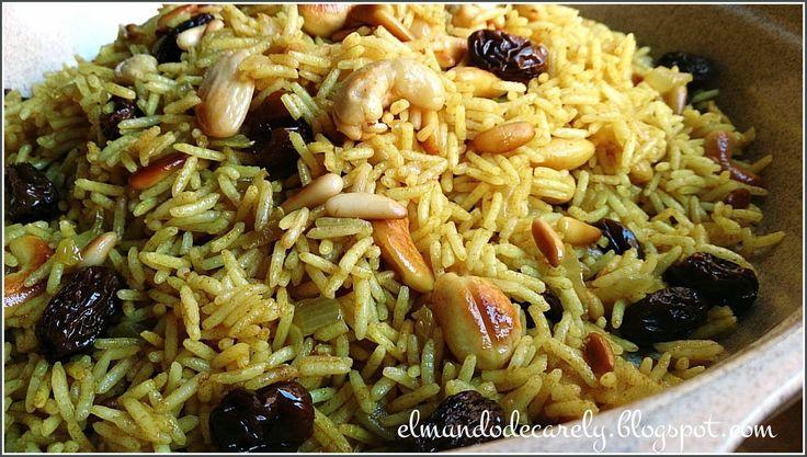 Hola!   Muy buenas cocinillas... aquí me tienen de nuevo para continuar con el menú de sabores de la India  y hoy toca el arroz basmati.  S...