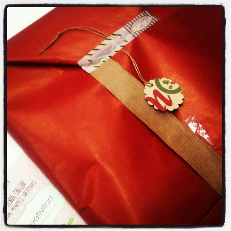 El regalo del Sorteo de Navidad sale hacia casa de su futura propietaria! Felicidades Sandra!