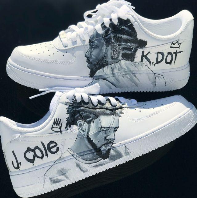 De trato fácil Arruinado Ártico  Custom x Kdot AF1's | THE CUSTOM MOVEMENT in 2021 | Nike air shoes, Custom  shoes diy, Hype shoes