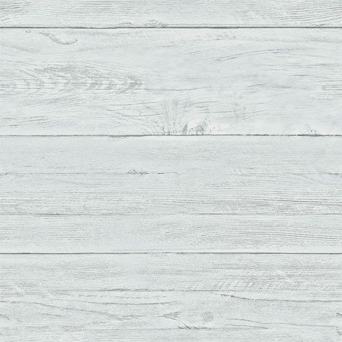 21 Inch Sample – White Washed Shiplap Wallpaper